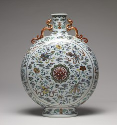 "Flask with the ""Eight Auspicious Symbols"" (bajixiang)"