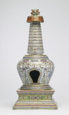 Model of a Buddhist Stupa