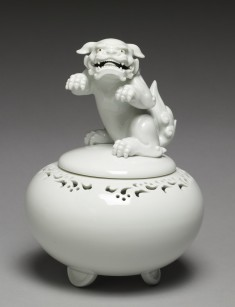 "Incense Burner (""Koro"") with Rearing Lion"