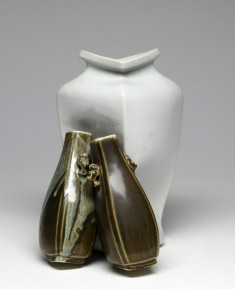 Three Conjoined Vases