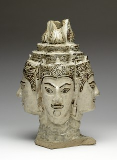 Finial with the Head of the God Brahma