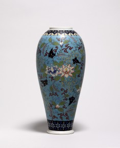 Vase Decorated with Vines and Tendrils