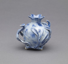 Pomagranate-Shaped Vase