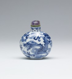 Snuff Bottle with Dragons