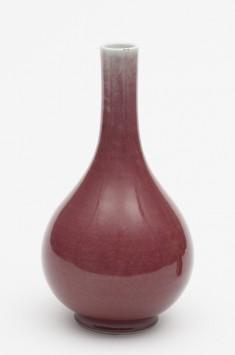 Tear-Shaped Vase with Slender Neck