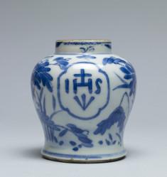 Jar with Jesuit Monogram