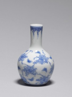 Small Vase with Butterflies and Vines