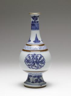 Vase with Formal Floral Motifs