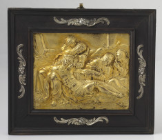 Framed Plaque with the Lamentation of Christ