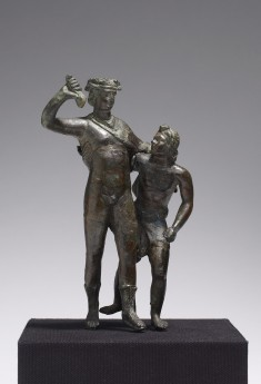 Dionysus with a Satyr