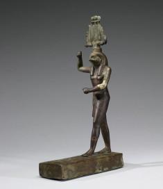 Statuette of Horus Trampling Antelope-Form Seth