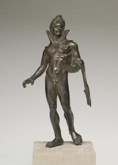 Herakles Carryng the Golden Apples