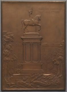 Commemerative Plaque, Universal Exposition of Paris, 1900