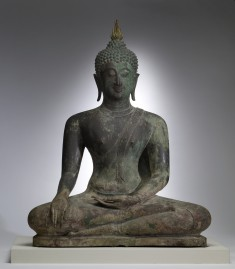 "Seated Buddha in ""Maravijaya"""