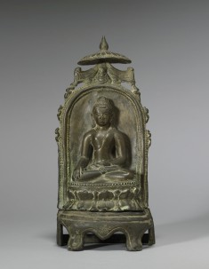 Enthroned Seated Buddha