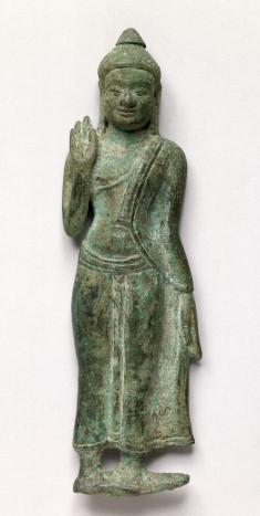 Walking Buddha, in High Relief