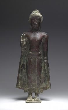 """Standing Buddha in """"Abhayamudra"""""""