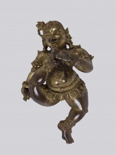 Cosmic Vishnu as Infant Krishna