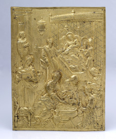 Plaque with the Birth of the Virgin