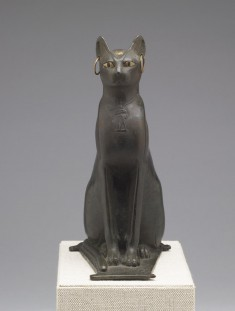 Statue of a Seated Cat