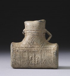 Pilgrimage Flask from the Shrine of Thomas Becket in Canterbury