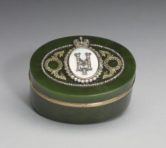 Oval Box with Monogram of Nicholas II