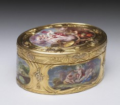 Snuffbox with Mythological Scenes and Landscapes
