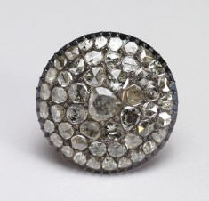 Ring with Cluster of Stones