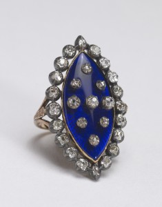 "Navette-Shaped ""Heavens"" Ring"