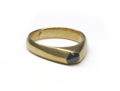 Stirrup-Type Ring