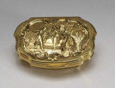 Snuffbox with Eleazar and Rebekah at the Well