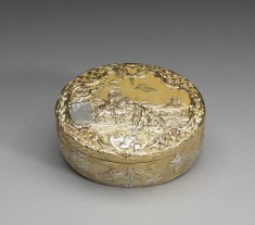 Snuffbox with Military Scene