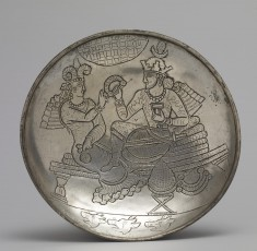 Plate with a King and Queen