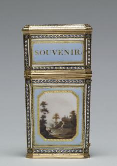 Tablet Case with Landscape Scene