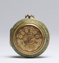 Watch with Double Case depicting Adonis and Venus