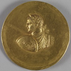 Medallion with Roman Emperor Caracalla