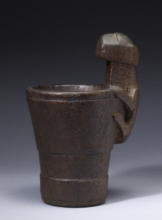 "Drinking vessel (""Kero"") with Jaguar Handle"