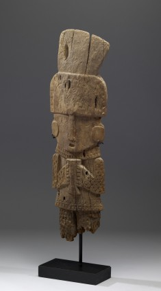 Carved Standing Figure
