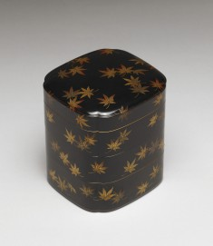 Incense Box with Maple Leaves