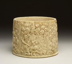 Ivory Pyx with Scenes from the Passion of Christ