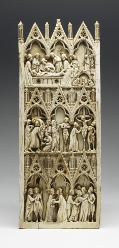 Diptych Leaf with Scenes from the Passion of Christ