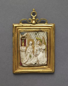 Devotional Plaquette with the Annunciation