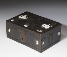 Leather Box for the Pennant of Francis I at the Battle of Pavia