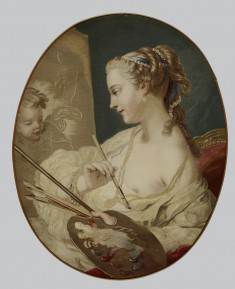"Allegorical Figure of a Woman Representing ""Painting"""