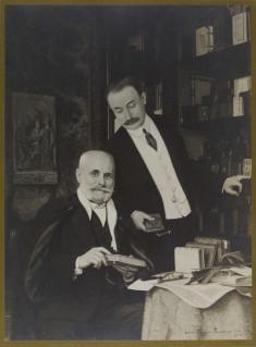 Portrait of Léon and Paul Gruel