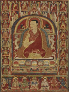 Kuyalwa, Second Abbot of Taklung Monastery, with Three Lineages
