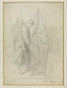 The Departure of the Guardsman