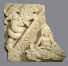 Fragment of a Pediment with a Goddess