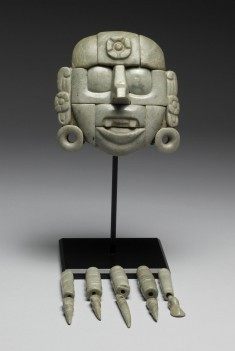 Mask with Pendant Beads