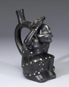 Warrior Effigy Bottle